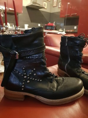 A.S.98 Boots black leather