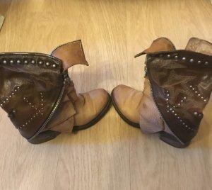 Airstep Laarzen licht beige-bruin Leer