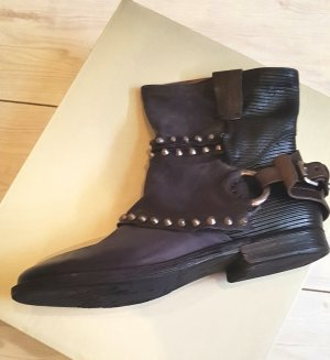 Airstep Booties black-anthracite leather