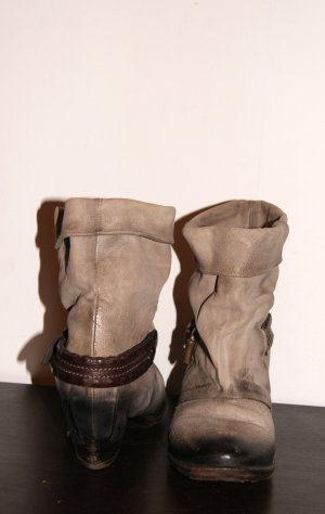 Airstep A.S.98 Cowboystiefel, Cowboy-Boots, Stiefelette Vintage, Gr. 40