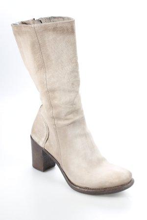 Airstep Absatz Stiefel beige klassischer Stil