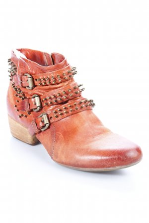 Airstep Ankle Boots rostrot-goldfarben Country-Look
