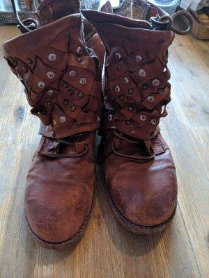 Airstep Desert Boots cognac-coloured