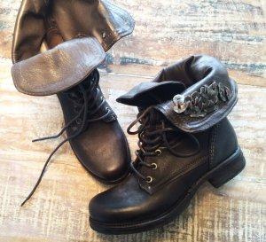 Airstep Boots mit Schnürung (anthrazit / schwarz / 37)