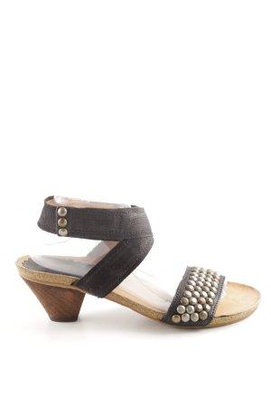 Airstep Clog Sandals black casual look