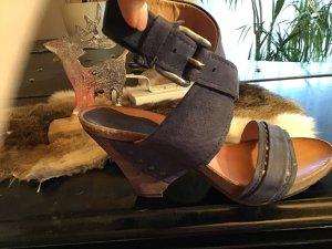 Airstep Wedge Sandals cornflower blue
