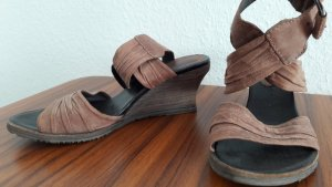 Airstep Wedge Sandals multicolored leather