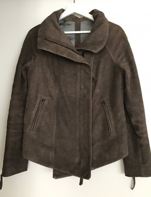 Airstep Leather Jacket light brown leather