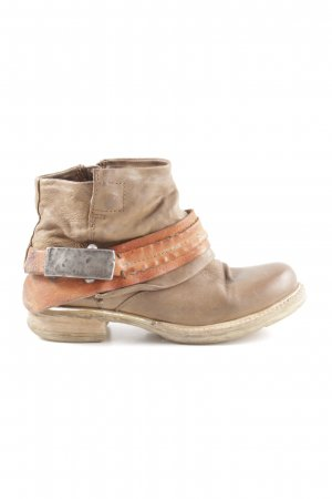 another chance 9d622 b4f38 Airstep Zipper Booties nude-light orange casual look