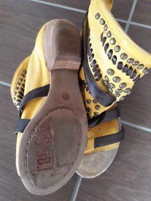 Airstep Comfort Sandals brown-yellow leather