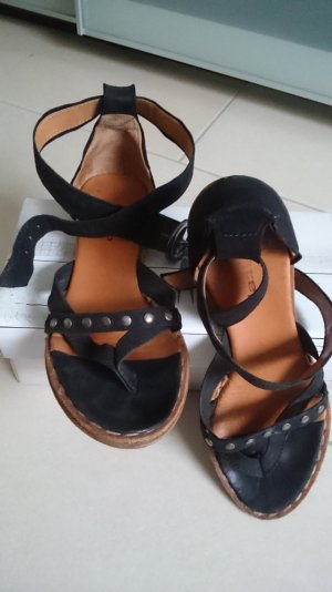 airstep sandale leder zehentrenner nieten sandale a.s.98