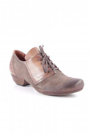 Airstep Lace Shoes light brown-green grey dandy style