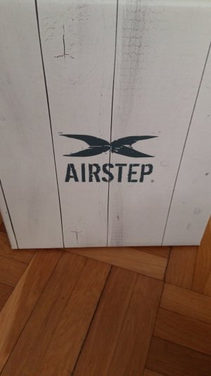 Air Step Zapatos de cuña marrón-crema