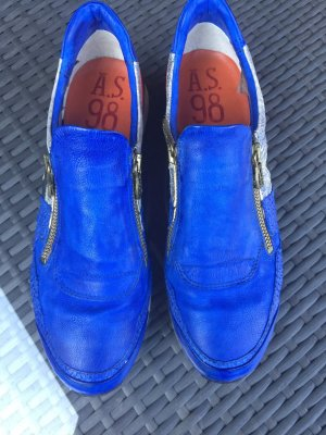 Air Step Sneakers red-steel blue