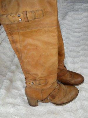 Air Step High Boots brown