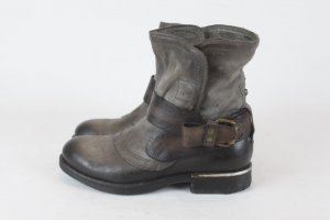 Airstep Stiefelette Ankle Boots Gr. 36 braun NEU Leder (E/MF/SC)