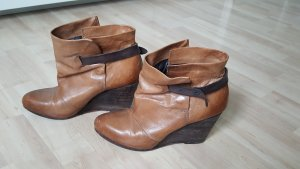 Airstep Booties cognac-coloured leather