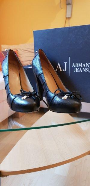 Armani Jeans Platform Pumps black