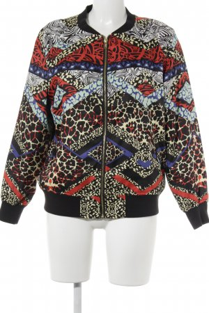 AJC Blouson abstract pattern casual look