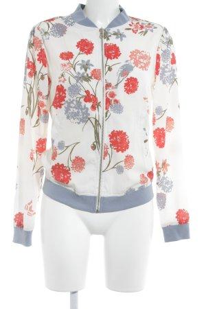 AJC Blouson flower pattern casual look