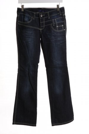 AJC Boot Cut Jeans blau Casual-Look