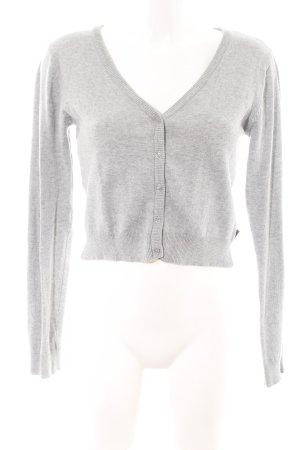 AJC Cardigan light grey flecked casual look