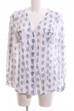 AJC Shirt Blouse white allover print casual look