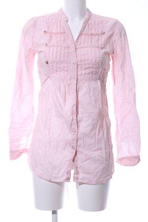 AJC Langarm-Bluse pink Casual-Look