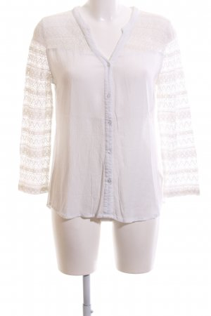 AJC Long Sleeve Blouse white business style