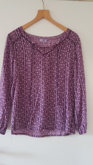 AJC Slip-over Blouse purple-dark violet