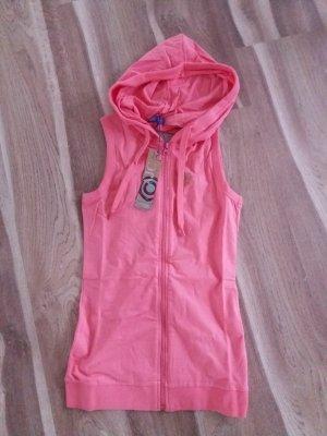 AJC Sommertop im Stil einer Weste hummer pink rosa Gr. 36 Neu mit Etikett