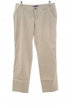 AJC Pantalone jersey color carne stile casual