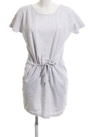 AJC Sweat Dress light grey flecked casual look