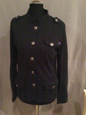 AJC Sweatshirt Jacke Gr 36 Militärstil schwarz