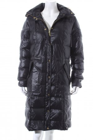AJC Wintermantel schwarz Steppmuster Casual-Look