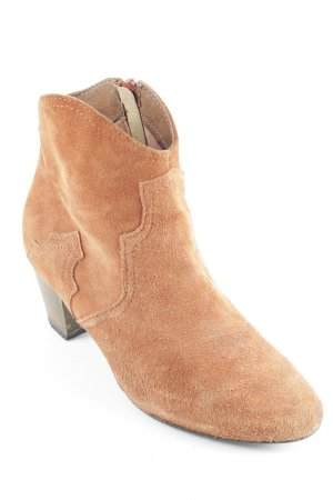 Akira Ankle Boots cognac Casual-Look