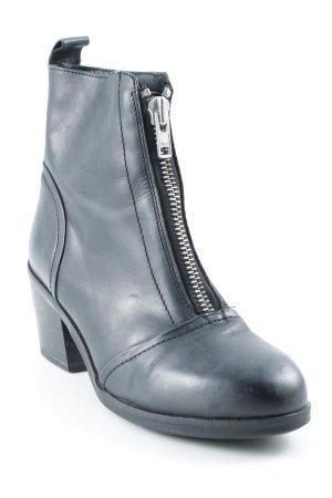 Akira Ankle Boots schwarz Street-Fashion-Look