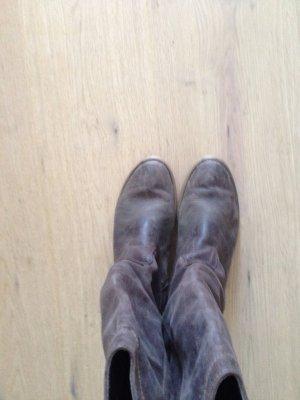 Akira braune Blogger Boots