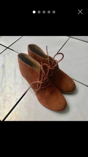 Akira Plateauzool Sandalen met Hoge Hakken bruin