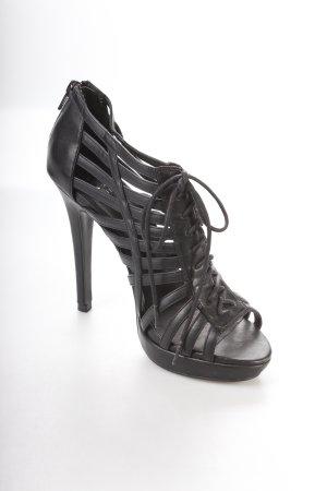 Akira High Heel Sandaletten schwarz Party-Look