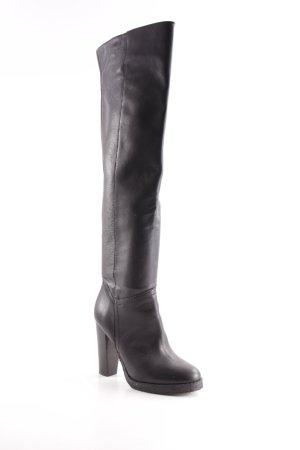 Akira High Heel Stiefel schwarz klassischer Stil