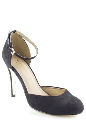 Akira High Heels schwarz-sandbraun Elegant