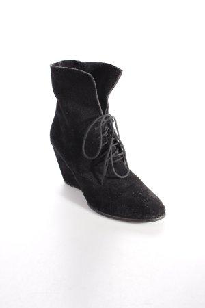Akira Keil-Stiefeletten schwarz