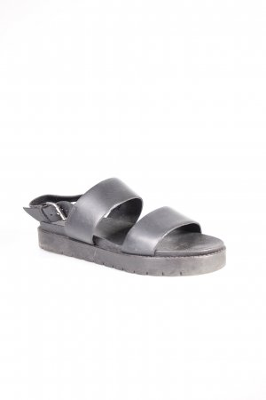 Akira Comfort Sandals black simple style