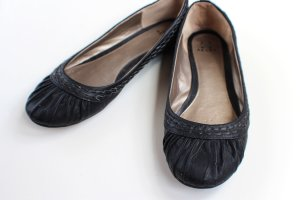 Akira Ballerinas black leather