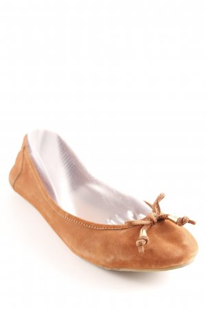 Akira Mary Jane Ballerinas cognac-braun Casual-Look