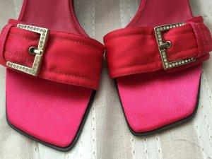 Akira Pantoletten in pink ungetragen