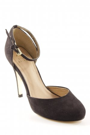 Akira Strapped pumps gold-colored-black casual look