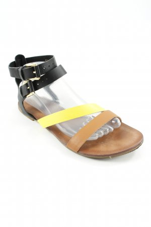 Akira Roman Sandals multicolored casual look