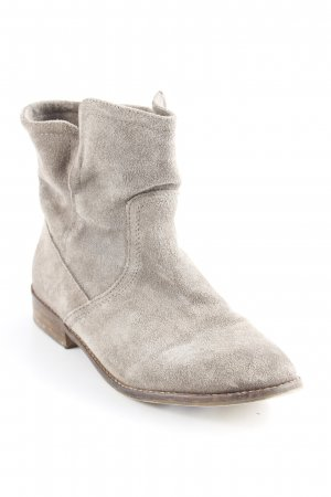 Akira Slip-on Booties grey brown casual look